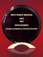 Global Banking & Finance Review 2012 – Nejlepší forex broker v Asii