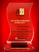 Der beste Retail-Broker laut Forex & Investment Summit 2011
