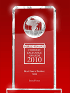 Der beste Broker Asiens 2010 laut World Finance Awards
