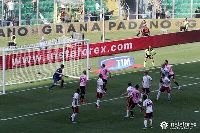 InstaForex adalah mitra resmi US Citta di Palermo dari 2015 sampai 2017.